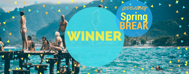 Giveaway Winner: Spring Break Edition!