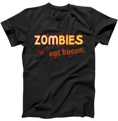 Zombies Eat Bacon T-Shirt