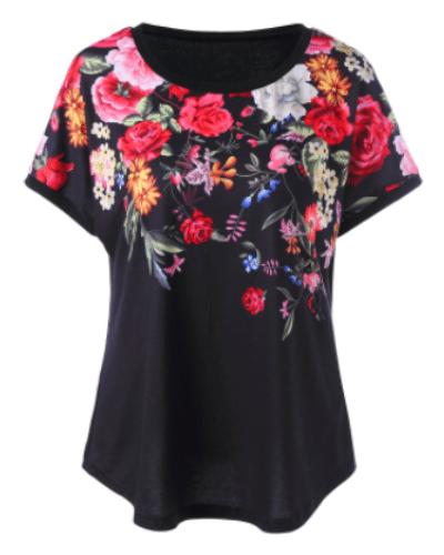 3D Floral Shirt