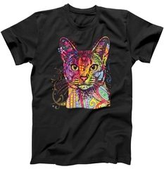 Abyssinian – Cat – Dean Russo T-Shirt