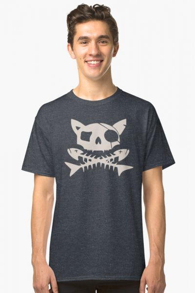 Cat Pirate Jolly Roger