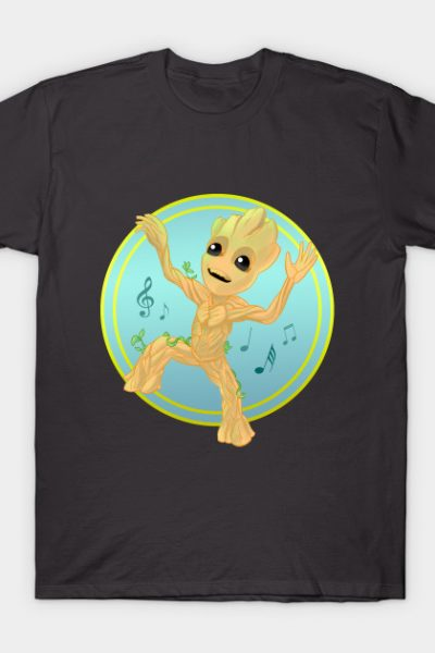 Dancing Baby Groot T-Shirt