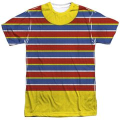 Ernie Costume Sesame Street Sublimation T-Shirt