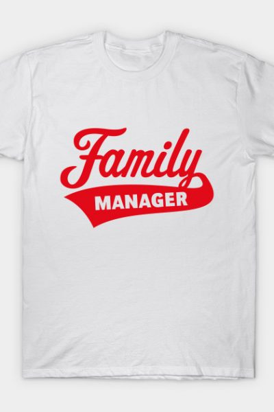 Family Manager / Red T-Shirt
