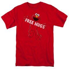 Free Hugs Elmo Sesame Street T-Shirt