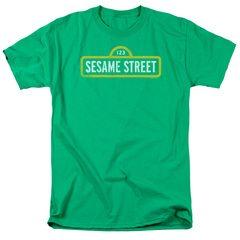 Sesame Street Rough Logo T-Shirt