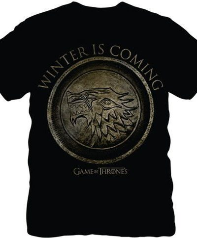Stark Seal Winter Is Coming T-shirt
