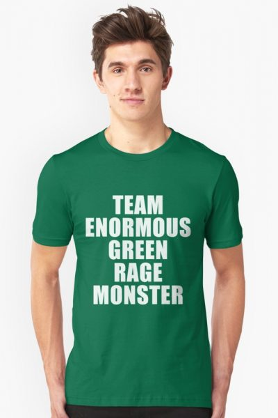 Team Enormous Green Rage Monster