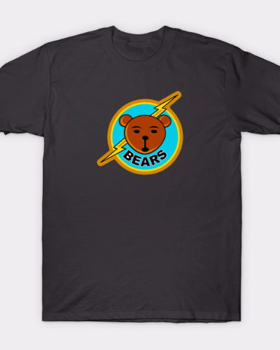Bad News Bears Logo Design T-Shirt