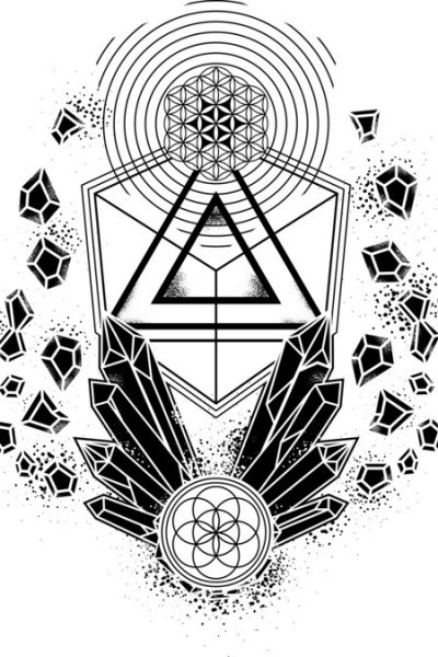 Crystal Symphony (b) T Shirt By ZenCandy Design By Humans