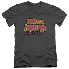 Dubble Bubble Mega Mouth V-Neck T-Shirt | TeeShirtPalace