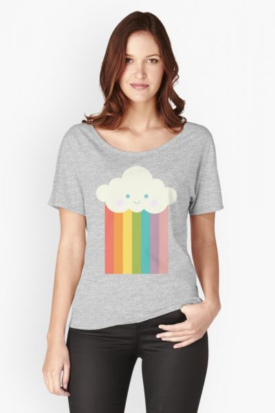 Proud rainbow cloud