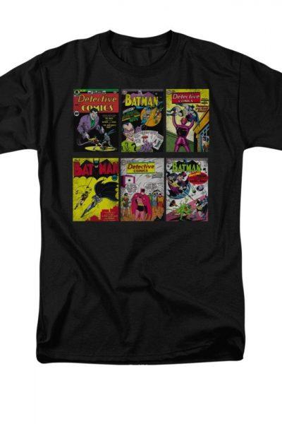 Batman – Comic Covers  Adult Regular Fit T-Shirt