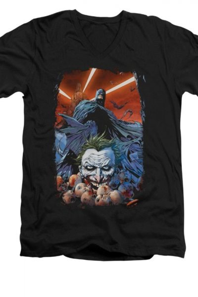 Batman – Detective Comics #1 Adult V-Neck T-Shirt