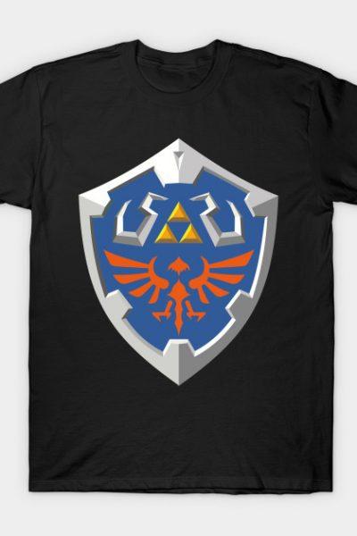 ハイリアの盾 – Hylian Shield T-Shirt