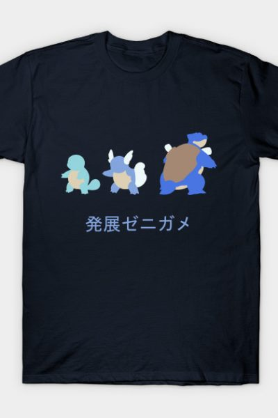 Evolution of Squirtle T-Shirt