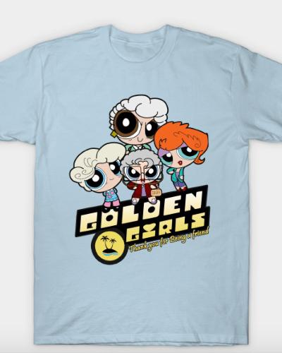 Golden Powerpuff Girls T-Shirt