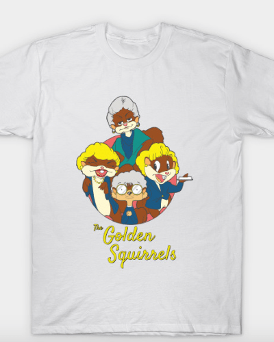 The Golden Squirrels T-Shirt