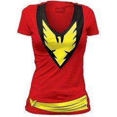 Dark Phoenix Women's V-Neck T-Shirt | TeeShirtPalace