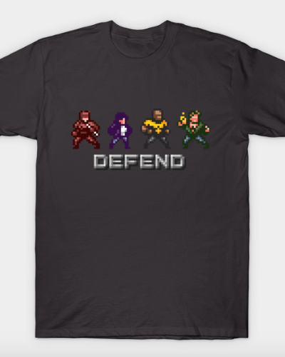 Defenders Arcade T-Shirt