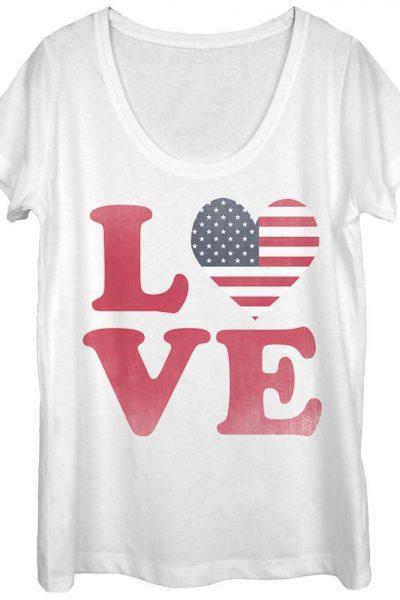 Lost Gods – Love Women's Scoop Neck T-Shirt