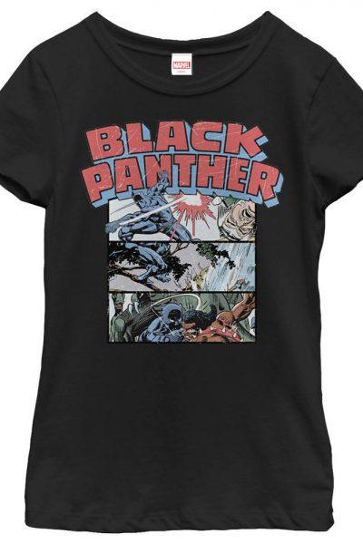 Marvel – Black Panther Collage Adult Regular Fit T-Shirt