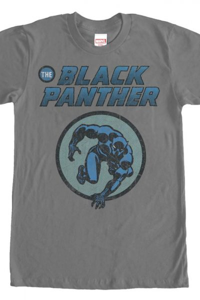 Marvel – Black Panther Comic Adult Regular Fit T-Shirt