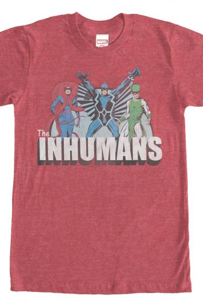 Marvel – Inhuman Groupshot Adult Regular Fit T-Shirt