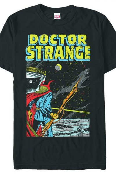 Marvel – Into Space Adult Regular Fit T-Shirt