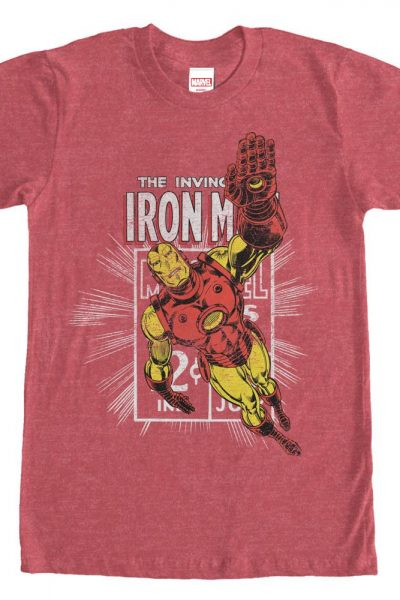 Marvel – Iron Man Adult Regular Fit T-Shirt