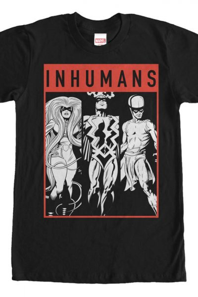 Marvel – Tri Inhuman Adult Regular Fit T-Shirt