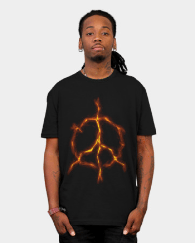 Peace Inside T Shirt By Nukkio Design By Humans