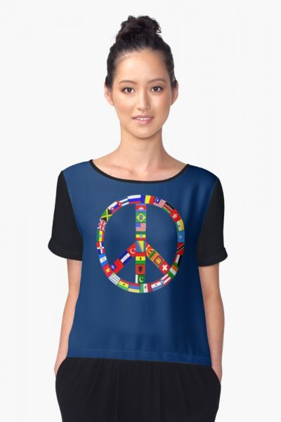 Peace Sign Of World Flags