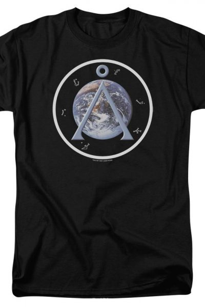 Sg1 Earth Emblem Adult Regular Fit T-Shirt