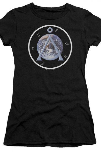 Sg1 Earth Emblem Junior T-Shirt