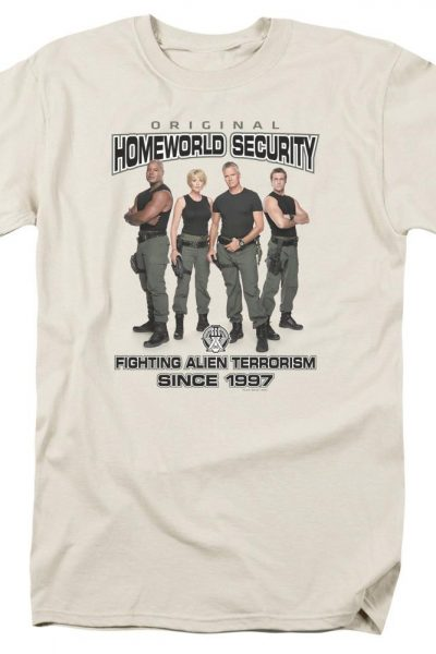 Sg1 Homeworld Security Adult Regular Fit T-Shirt