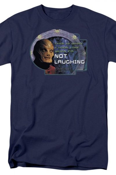Sg1 Not Laughing Adult Regular Fit T-Shirt