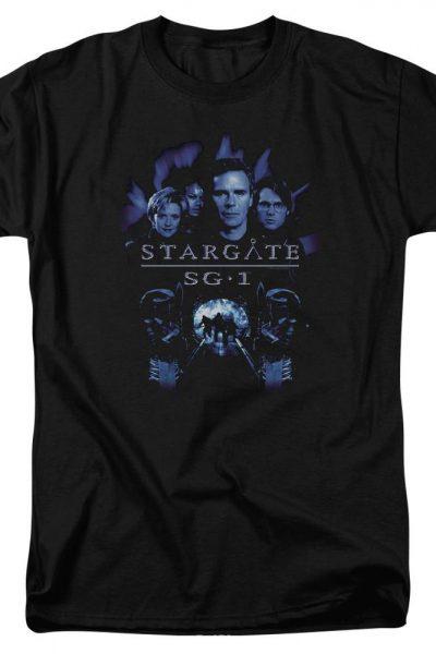 Sg1 Sg1 Stargate Command Adult Regular Fit T-Shirt