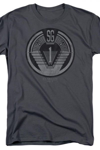 Sg1 Team Badge Adult Regular Fit T-Shirt