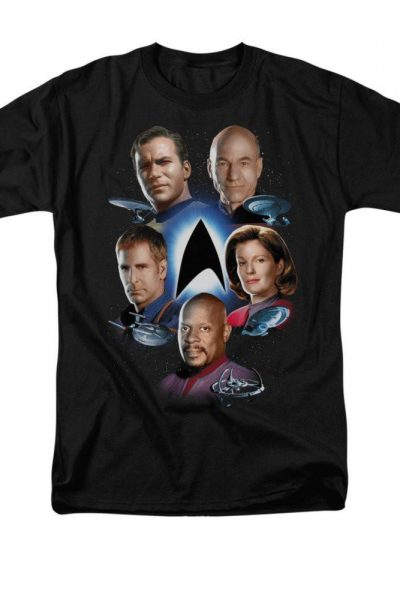Star Trek – Starfleet's Finest Adult Regular Fit T-Shirt