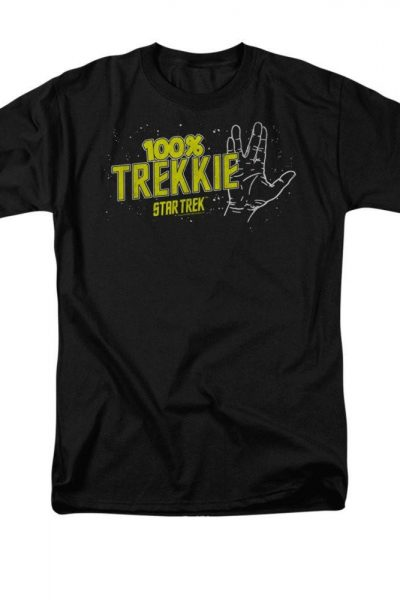 Star Trek – Trekkie Adult T-Shirt