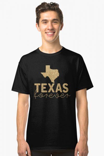 Texas Forever on Black