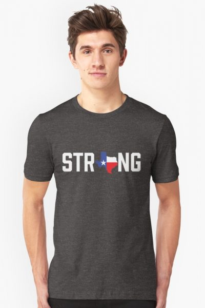 Texas State Strong Red White & Blue