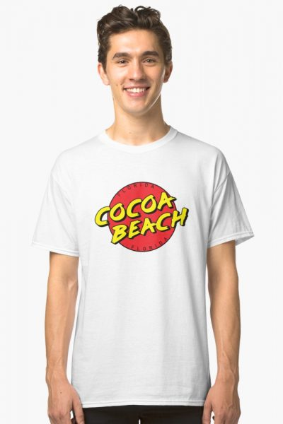 Cocoa Beach Florida Bold FL Souvenir