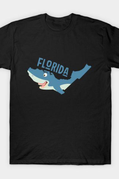Florida: a funny map T-Shirt