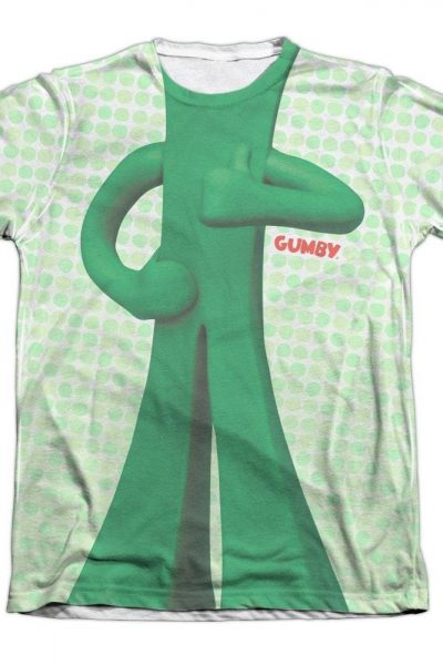 Gumby – Gumb Me Sub Adult All Over Print Poly-Cotton T-Shirt