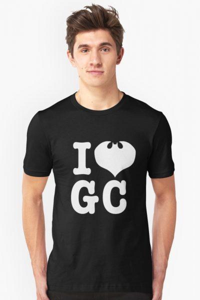 I Love GC: White Text