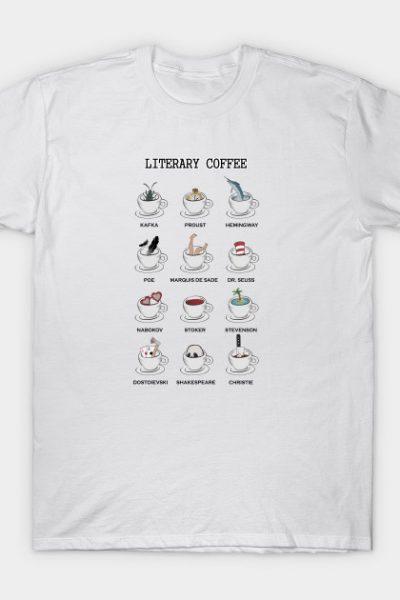 Literary coffee T-Shirt