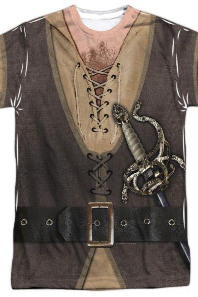 Pb – Montoya Costume Adult All Over Print 100% Poly T-Shirt