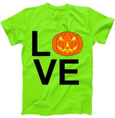 Pumpkin Love Halloween T-Shirt | TeeShirtPalace